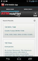 Screenshot of ATM Mobile