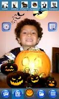 Screenshot of FunCam Halloween Camera