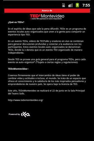 玩通訊App|TEDx Montevideo2011免費|APP試玩