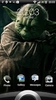 Screenshot of Yoda: Sounds & Wallpapers