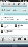 Screenshot of Layeroid POINT