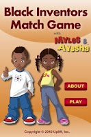 Screenshot of Black Inventors MatchGame LITE