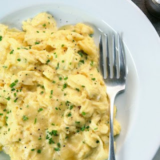Barbara Walters' Scrambled Eggs