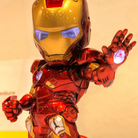 5 inch tall Iron Man by Sal 1701 - Artistic Objects Toys