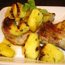 Pineapple-Mint Chutney