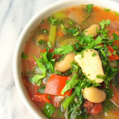 Slow Cooker Italian Chicken Soup