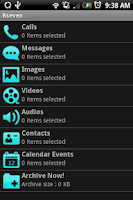 Screenshot of Rseven: Record Everything