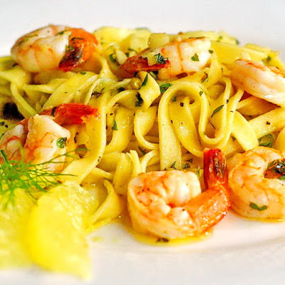 Super Simple Shrimp Scampi