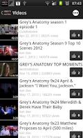 Screenshot of Grey's Anatomy Fan