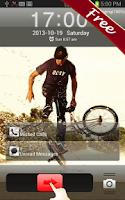 Screenshot of BmX HD GO Locker Theme