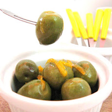 Orange Flavored Olives