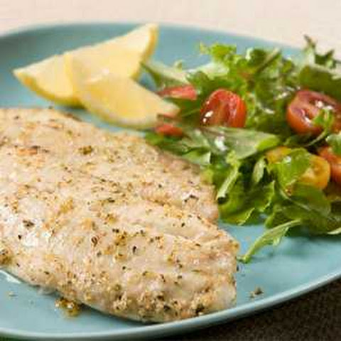 Garlic Herb Seasoned Tilapia