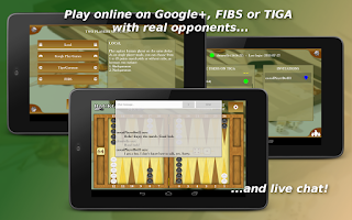Screenshot of Backgammon Mobile - ONLINE