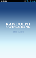 Screenshot of Randolph Savings Bank Mobile