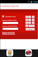 Screenshot of mensajes gratis peru movistar