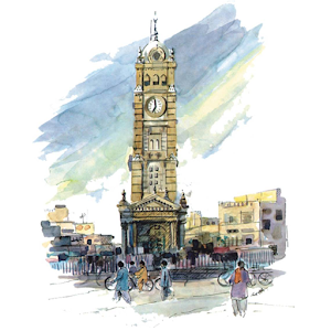 Faisalabad, the ClocktowerCity