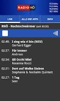 Screenshot of ORF Radio Niederösterreich