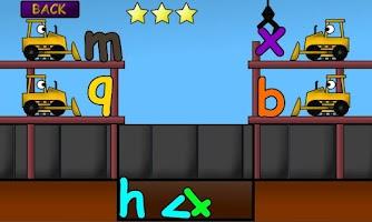 Screenshot of Kids Trucks: Alphabet Games