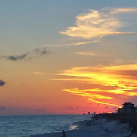 Pensacola at sunset by Michael Hudgens - Landscapes Beaches (  )