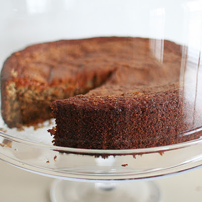Orange-Walnut Cake