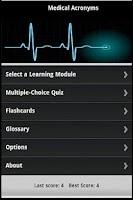 Screenshot of Medical Terminology Guide
