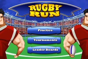 Screenshot of Rugby Run