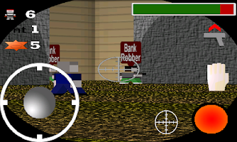 Screenshot of Quadroville 3D FPS - Free
