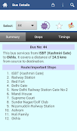 Screenshot of Delhi DTC Info