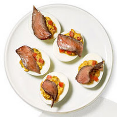 Steakhouse Deviled Eggs