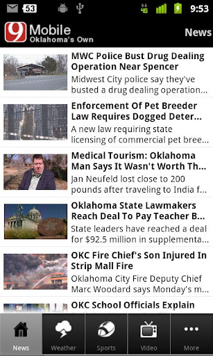 News 9 Oklahoma's Own