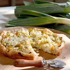 Buttermilk Leek Tart