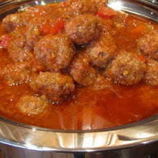 Polynesian Meatballs (For Party Trays)