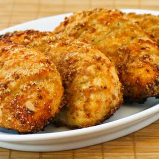 Parmesan Chicken with Garlic and Herbs