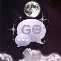 GO SMS Theme Night Moon