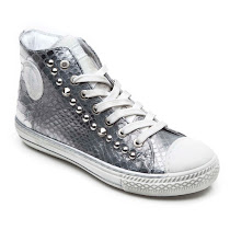 Hip Shoes Snake Effect High Top BOOT