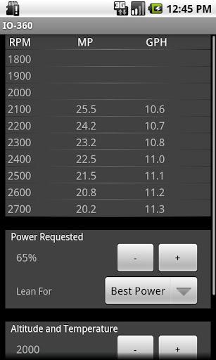 IO360 Power Calculator