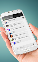 Screenshot of Zocialized: Chat, Kik, More