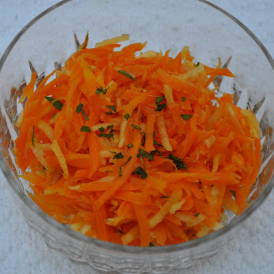 Roasted Carrot and Apple Slaw