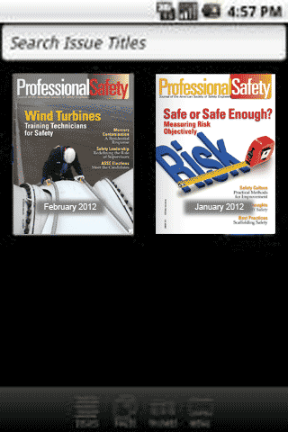 Professional Safety Journal