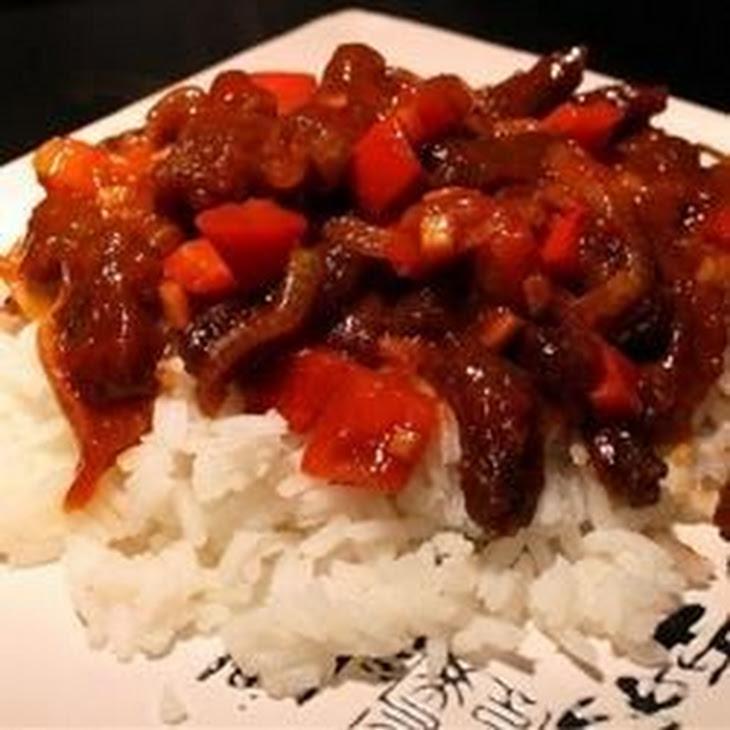 Spicy Crispy Beef Recipe — Dishmaps
