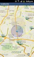 Screenshot of Banco Azteca Localización
