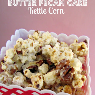 Butter Pecan Cake Kettle Corn {Sundays with Joy}