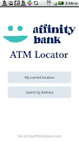 Screenshot of Affinity Bank ATM Locator