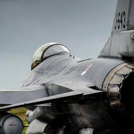 Dutch Viper by Caspar Smit - Transportation Airplanes ( aviation, airforce, airplanes, airplane, aircraft, falcon, fighting falcon, viper, f-1g, airshow )