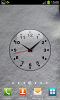 Screenshot of Clock Live Wallpaper Free