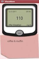 Screenshot of Glucowave Diabetes