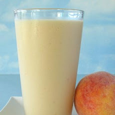 Peach Pick Me up Smoothie