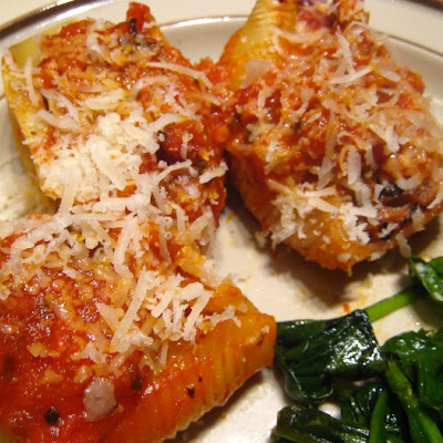 Stuffed Shells with Proscuitto & Radicchio