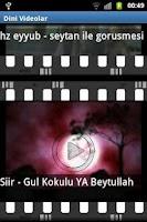 Screenshot of Dini Film, ilahi ve Bilgiler