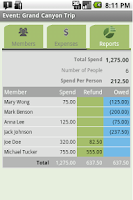 Screenshot of Expense Share + Tip Cal Pro
